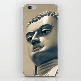 Buddha on top of Golden Temple of Dambulla iPhone Skin
