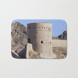 Watch tower in old Muscat - Oman Bath Mat