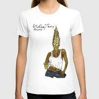 houston T-shirts featuring Wheatney Houston by Pattavina