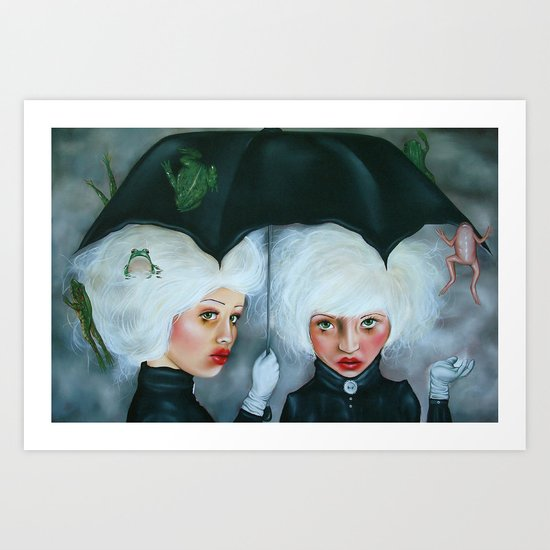 Heavy Enough to Fall Art Print