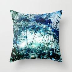 Artic Sea Throw Pillow