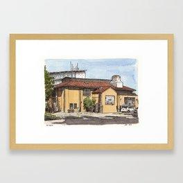 Old Boiler Building, UC Davis Framed Art Print