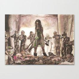 My Turn Canvas Print