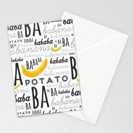 Minion - banana Stationery Cards