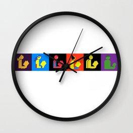 Readers Assemble vol. 1 Wall Clock