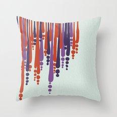 drip Throw Pillow