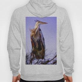 Great Blue Heron Hoody