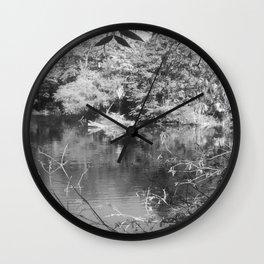 Pine Woods Of East Texas Exhibit Wall Clock