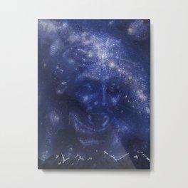 Athena, the Creator Metal Print