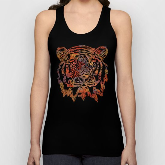 Tiger (Fearless) 2.0 Unisex Tank Top
