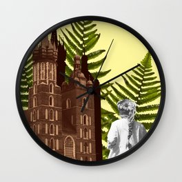 Cracow Communion Wall Clock