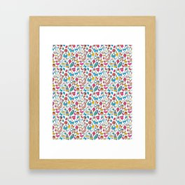 Kidz and toys Framed Art Print