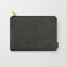 Basalt - Black Stone Texture Carry-All Pouch
