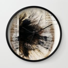 One Flew over the Cuckoo's nest Wall Clock