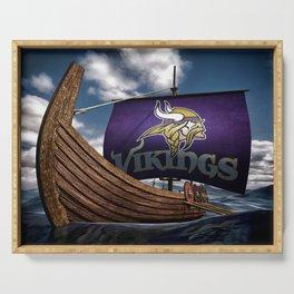 Viking Ship Serving Tray