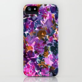 Shadow Rose iPhone Case