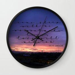 Love will make us, Cortazar Wall Clock