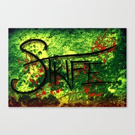 Strife Canvas Print