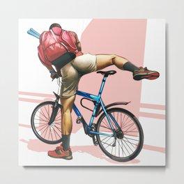 Hot Ride Metal Print
