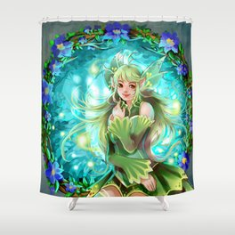 Forest Fea Shower Curtain