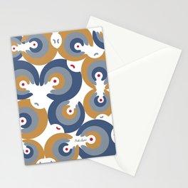 Mano Semilla/Hand Seed--Blue Stationery Cards