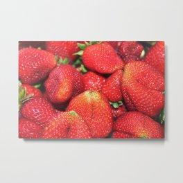 Strawberry Fest Metal Print