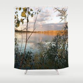 In a World Where There are Octobers Shower Curtain