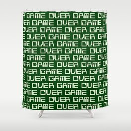 Game Over (i) Shower Curtain