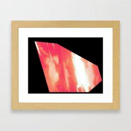 hot hues Framed Art Print