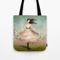 Butterfly Dress Tote Bag