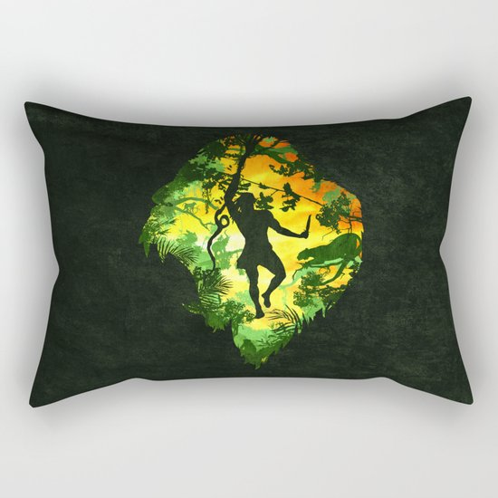 Ape Man Rectangular Pillow