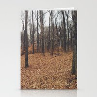 indiana Stationery Cards featuring Indiana Forest by Kurt Rahn