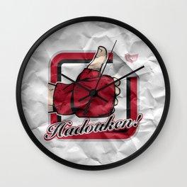 Hadouken! Wall Clock