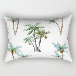 Palm Tree Pattern 01 Rectangular Pillow