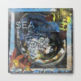 SEA LOVE Metal Print
