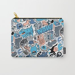 Gross Pattern Carry-All Pouch