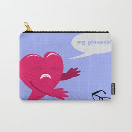 Love Blinded Carry-All Pouch
