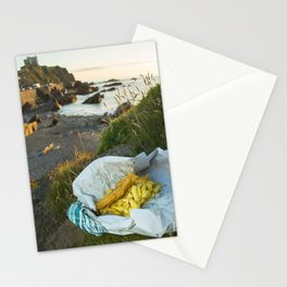 Ilfracombe Fish n Chips Stationery Cards