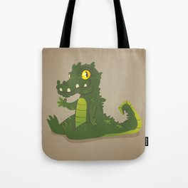 Baby Crocodile Tote Bag