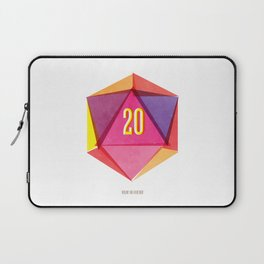 Rolling D20's Like A Big Shot  Laptop Sleeve