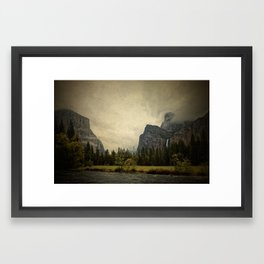 Yosemite - Study 87 Framed Art Print
