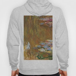 1917-Claude Monet-The Water Lily Pond Hoody