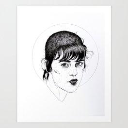 Skinhead 2 Art Print