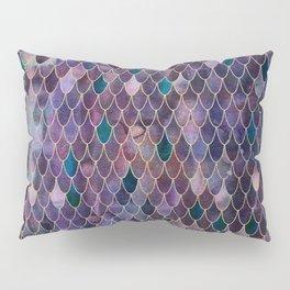 Mermaid Dark Purple Pillow Sham