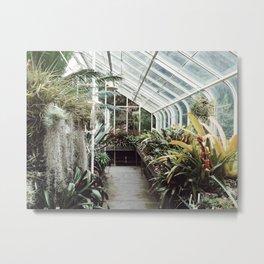 Volunteer Park Conservatory B-Side Metal Print
