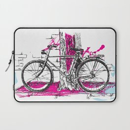 Lone Bicycle Laptop Sleeve