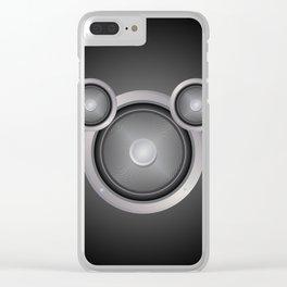 Loudspeaker Clear iPhone Case