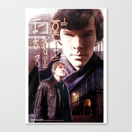 Sherlock - The Ancient Code Canvas Print