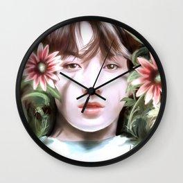 BTS - Flower Boy Wall Clock