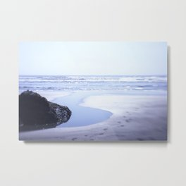 Reality a dreamy beach photo with bokeh Metal Print